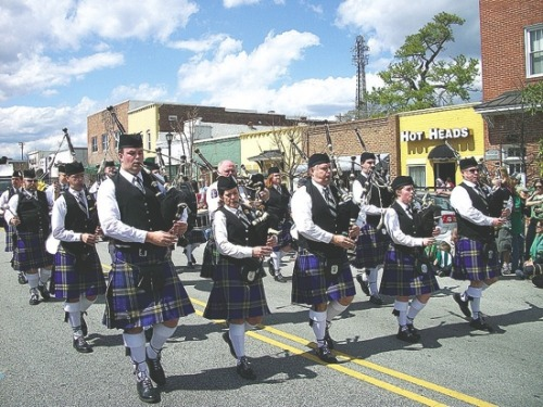 Find out exactly where you can find all these bagpipers in this week's Freeloaders.