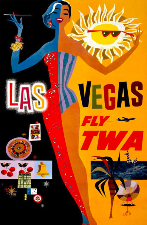 rogerwilkerson:  By request… Las Vegas Fly TWA