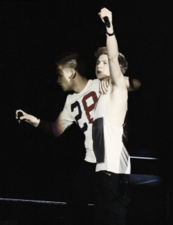 Liam & Niall at the TMH-Tour in Verona/Italy (19th May 2013)