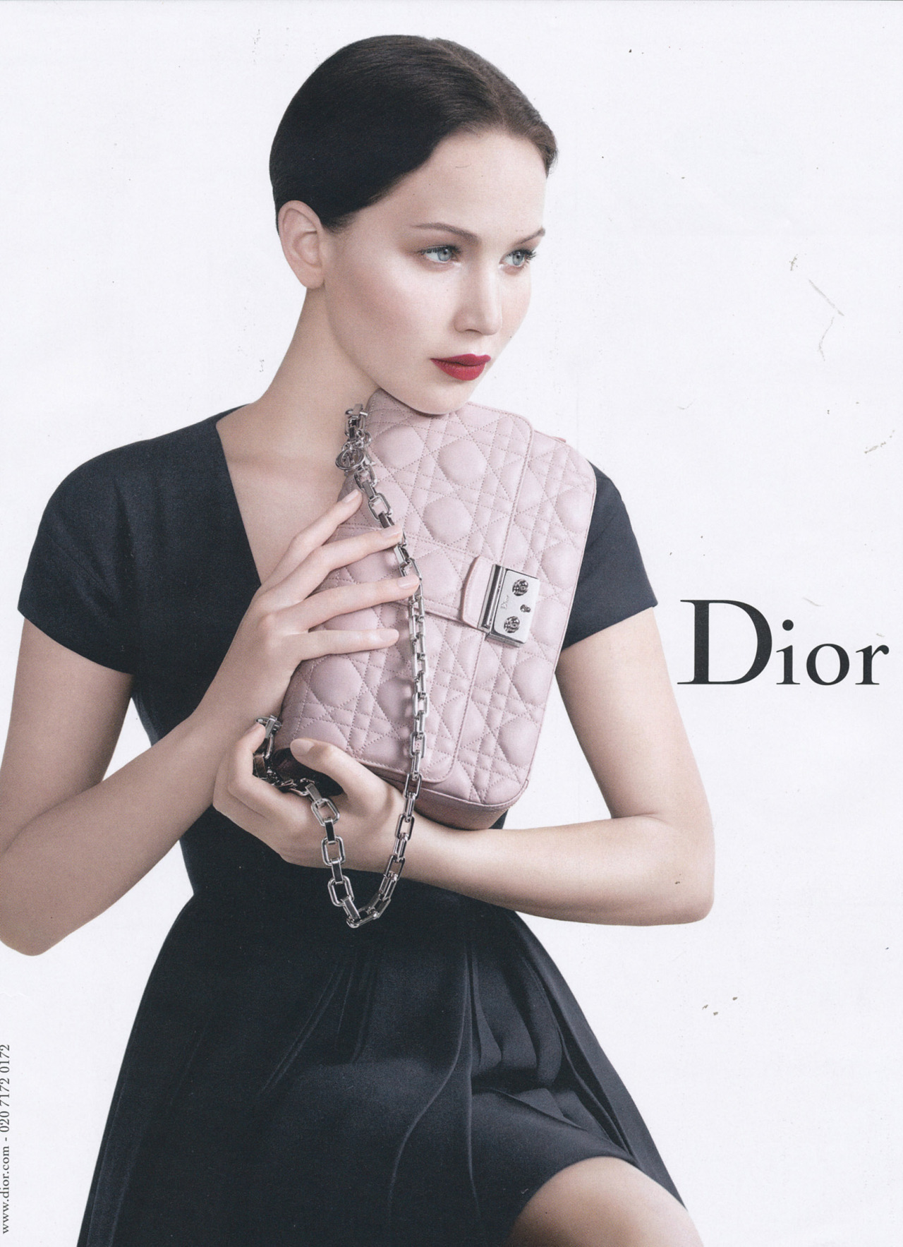 bohemea:  Jennifer Lawrence for Dior Handbags Spring/Summer 2013 by Willy Vanderperre