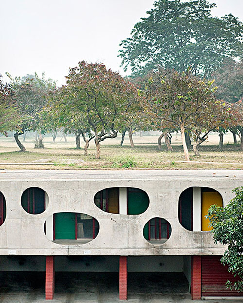 chandigarh | detail ~ lecorbusier | manuel bougot photograph