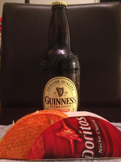 I Tip This Guinness and Crunch This Taco in Memory of our RezHead Friend Hemi