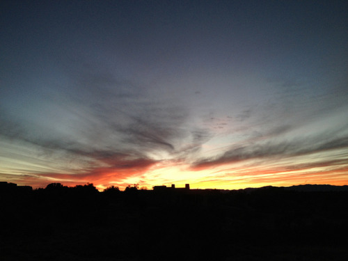 My last desert sunset of 2012. on Flickr.