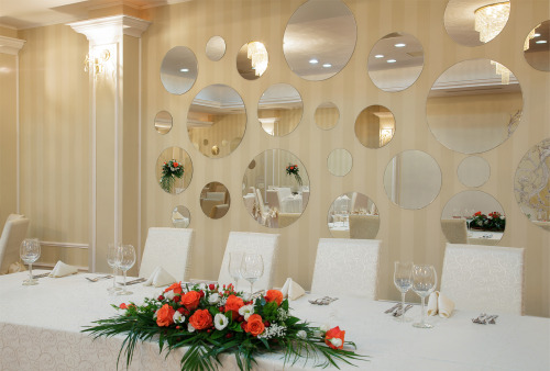 Beautiful wedding ballroom in Bucharest, Romania. :)