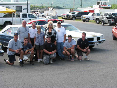 Happier Days June 2011 Beaver Springs Dragway. My family and friends. Including Ken and Angie Montgomery and Linda Vaughn.