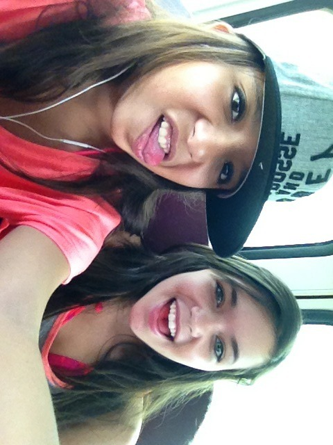 Me and Taylor off to Fiesta Texas!!;)