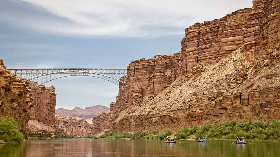 Colorado River in Arizona (via Colorado River : Daily Escape : Travel Channel)