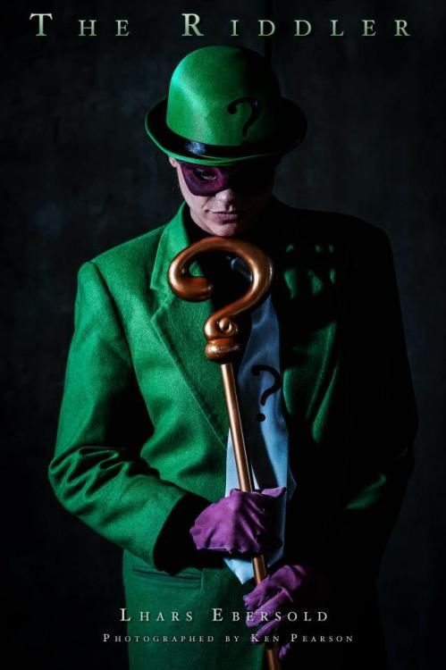 The Riddler Cosplay by Lhars Ebersold Photography by Ken Pearson