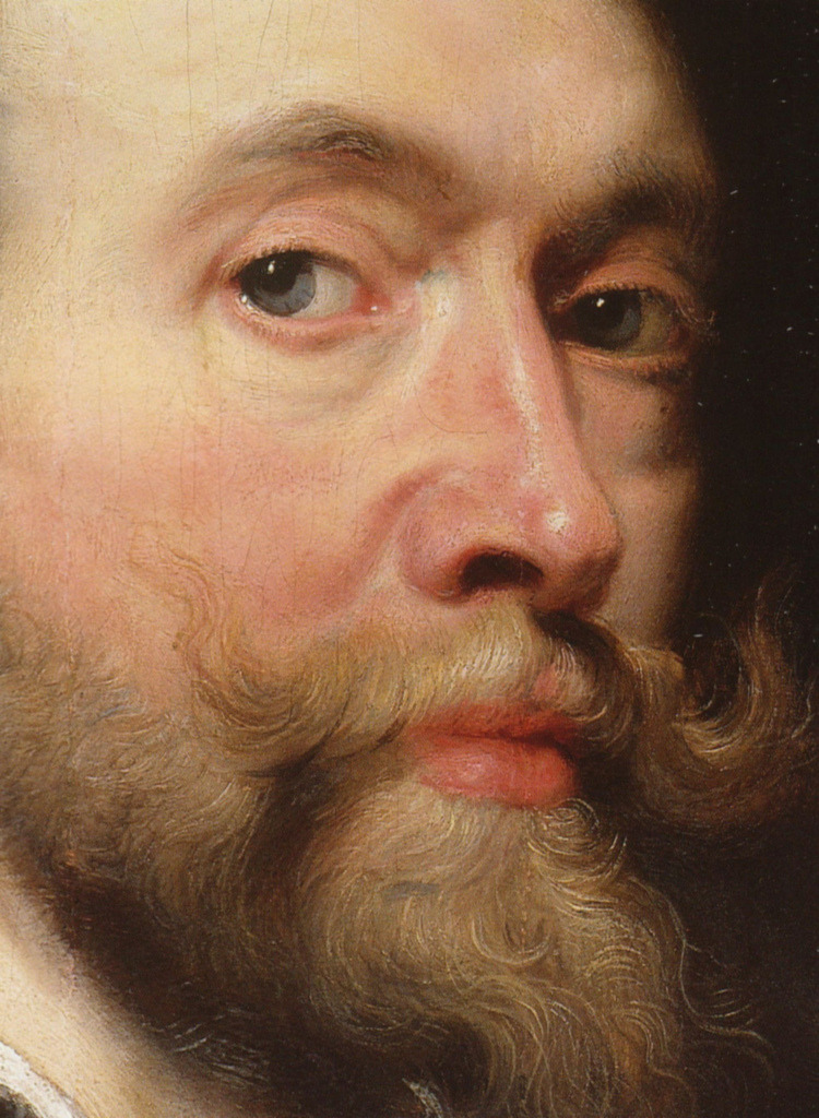 "tierradentro:  ""Self-Portrait"" (detail), 1623, Peter Paul Rubens. (via)"