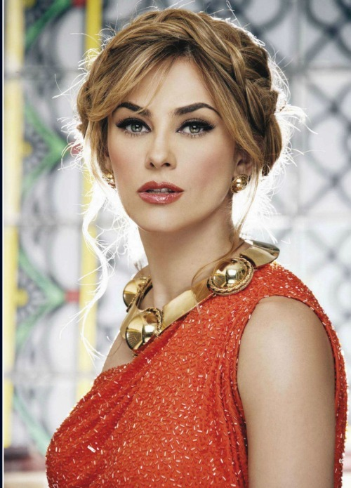 "This woman just gets more flawless with age. Aracely Arambula will leave many quaking in their boots as ""La Patrona""."
