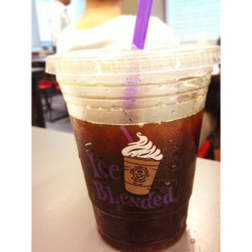 Americano to start the day, hello tutorial #whitagram #drinks #coffeebean #americano #coffee #sg #picoftheday #photooftheday #school