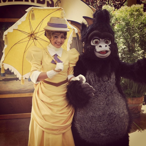 Jane Porter and Terk