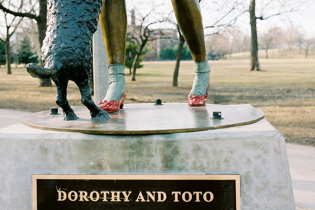 vestigely:  Dorothy and Toto by Dottie B. on Flickr.