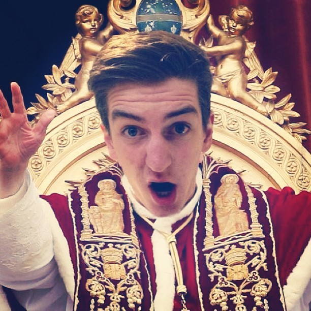 I am the Pope #religion #funny #myface