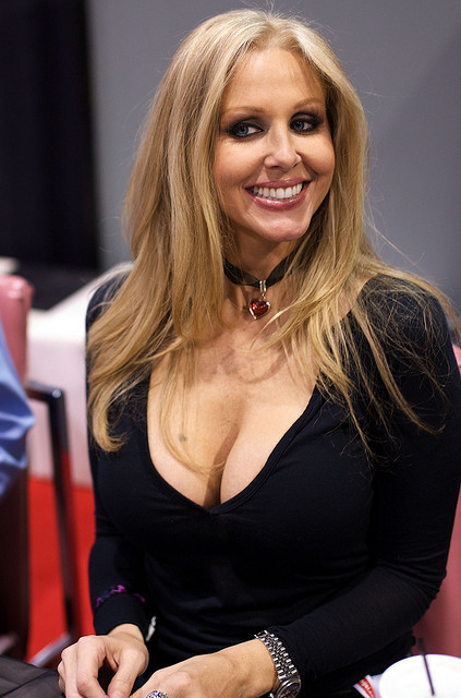 alilsweet:  09AVN21 - Julia Ann by gcD600 on Flickr. MILF Julia Ann. Perky as ever.