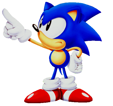 q8yshadow:  and sonic just points at our icon with such an attitude :Y