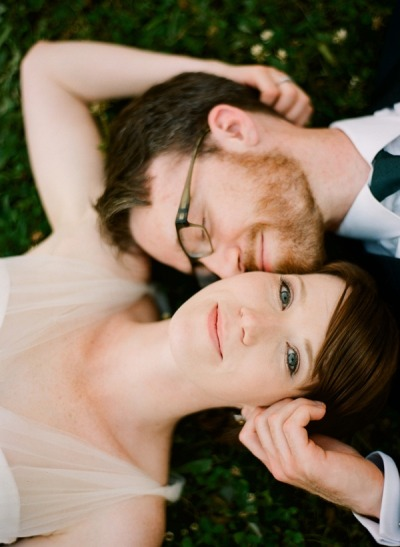 livin-on-lovee:  Bartram Gardens Outdoor Wedding via Once Wed