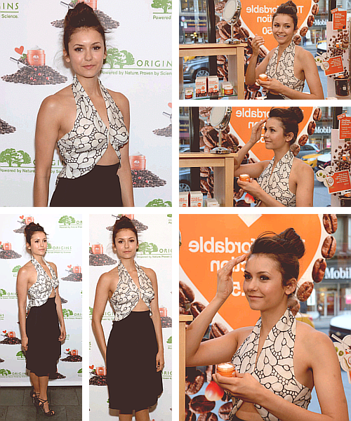 Nina Dobrev - Origins Cosmetics Event [2013]