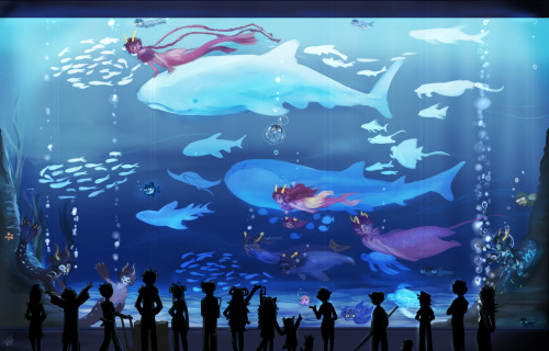 salihombox:  aquariumstuckcollect background