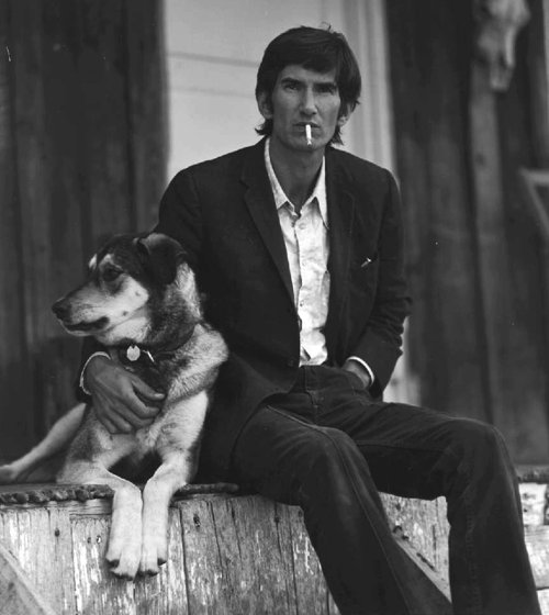 "aquariumdrunkard:    Townes Van Zandt :: Live – Minneapolis, MN, 1973 There's a collection of unreleased Townes Van Zandt recordings from 1971-72 coming out in a few weeks. I haven't heard a note of it, but I'm going to go out on a limb and call it one of the best releases of 2013. The years 1968-1973 were Van Zandt's peak period, with classics pouring out of him at an astonishing rate. The albums he released during that time — Our Mother the Mountain, Townes Van Zandt, Delta Momma Blues, High, Low and in Between, and The Late Great Townes Van Zandt — contain the tunes that made Townes one of the greatest American songwriters of the 20th century. But the albums themselves are a famously mixed bag, with overblown production often obscuring Townes' brilliance. That's why recordings like this one, made at the University of Minnesota's Whole Coffeehouse in late 1973, are essential listening. With nothing but an acoustic guitar for accompaniment, Van Zandt plays a marvelous, hour-long set to what sounds like a crowd of 40 lucky human beings. For a guy whose battles with the bottle were legendary (and made for an unpredictable onstage career), his focus is laser sharp here, every syllable perfectly placed, every fingerpicked guitar line cutting to the quick. With a profoundly sorrowful ""Tecumseh Valley,"" the unbelievably bleak ""Nothing,"" and his enigmatic, bottomless ""Pancho and Lefty,"" the mood is dark, world-weary. Townes attempts to lighten the mood with a satirical talking blues but even that is a little harrowing, and the traditional ""Molly and Tenbrooks"" is perky musically, but it's still about the gruesome death of a racehorse. The guy couldn't resist a sad song. words/ t wilcox Download: Townes Van Zandt :: Live – Minneapolis, MN, 1973 1. Radio Intro 2. I'll Meet You In The Morning 3. Hobo Bill 4. Where I Lead Me 5. Broke Down Engine Blues 6. For The Sake Of The Song 7. Nothing 8. Molly and Tenbrooks 9. Talking Thunderbird Blues 10. Pancho and Lefty 11. Mr Mudd and Mr Gold 12. Tecumseh Valley 13. The Ballad of Ira Hayes 14. (Quicksilver Daydreams Of) Maria 15. Tying Ten Knots In The Devil's Tail"