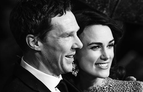 Keira Knightley & Benedict Cumberbatch 'Imitation Game' Premiere London!