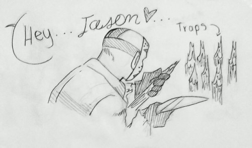 fan art i& 039;m sorry jason coulsart >:3c comic