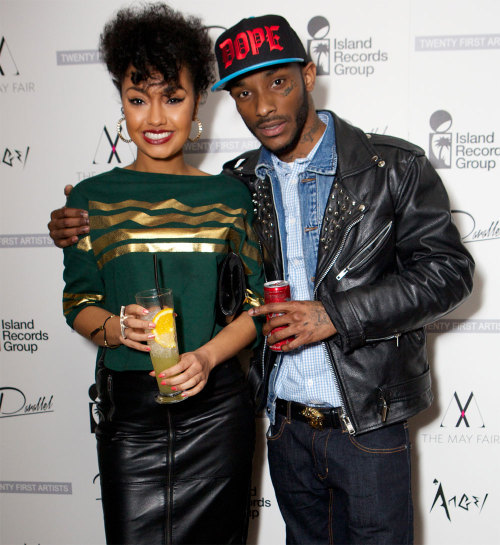 pandjscurry:  leigh and angel on the red carpet last night..