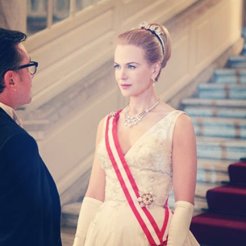 first photos surface of #NicoleKidman playing #princess in 'Grace of Monaco' #movies #gorgoeus