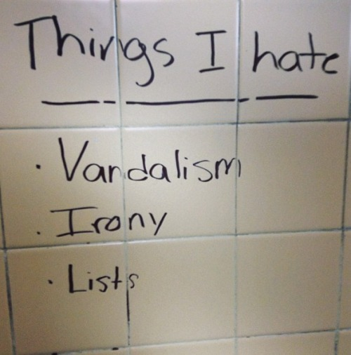 irrelevantt:  bathroom graffiti >