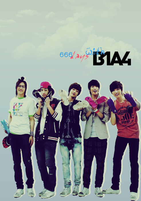 Happy 666th day of B1A4 <3