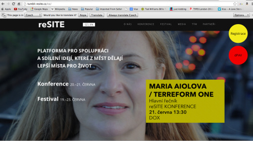 Have you seen www.resite.cz lately? Yulia, our Creative Director has decided to turn it into a masterpiece. If you like it, give her like - she is one of the most dedicated reSITE workers