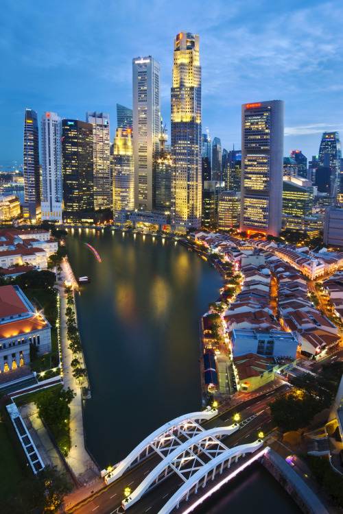 travelingcolors:  Singapore River | Singapore (by hock how & siew peng)