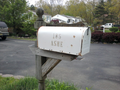 ashestoashesjc:  Apparently you live in my town in south NJ Ashe. You got a nice house too, so jelly. ——— welp. time to move.