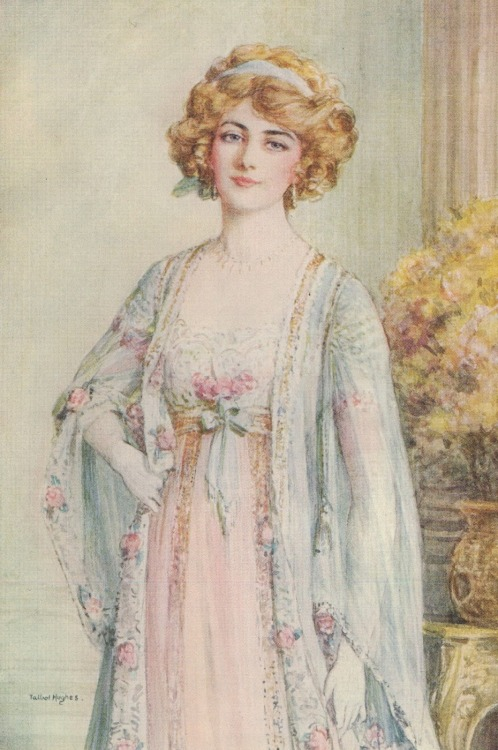 labellefilleart:  The Merry Widow, Talbot Hughes