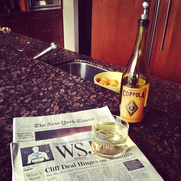 hello beautiful #wine #nytimes #newyorktimes #wsj #wallstreetjournal #happyhour #goodday