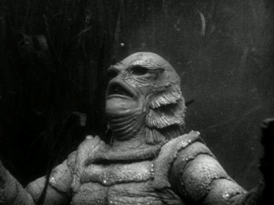 sweetheartsandcharacters:  Ricou Browning played the gill man in the underwater scenes of  Creature from the Black Lagoon (1954).