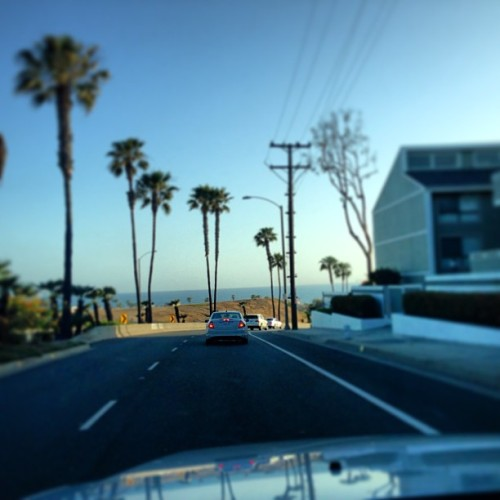 My office today Newport beach looking over PCH / 40th st… BOOM 👌
