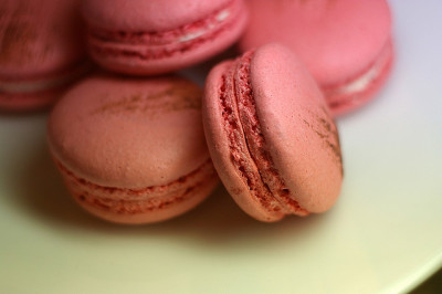 Macarons by fortinbras on Flickr.