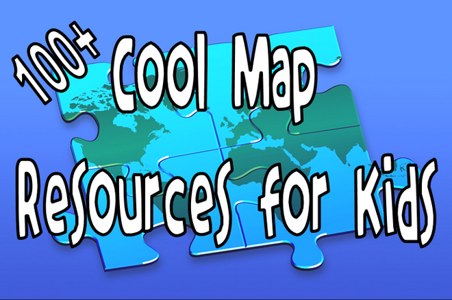 "New additions to ""Maps 4 Kids"" 100+ Cool Map Resources #sschat #edtech #maps #geography This is just an update to a previous popular post because I have added a few new resources to this binder in the last few weeks, including Open Street Maps (via @ictmagic) Resources include: printables, interactive maps and tools, map makers, interactives, games, and other related resources. Lots to dig through! Below are just a few of the resources you will find in my  Maps for Kids Livebinder. All FREE resources! Paises Very cool modern map resource for older students. Map Skip No need to create an account to view just to add content. (pretty cool) Step Map Create a personal map for free! Classroom Clip Art Fantastic resource for classroom use only. d-Maps printable maps My Wonderful World Printable Wall Maps! Digital Dialects Nice games. Owl and Mouse Outstanding resource for the classroom! Zoom into Maps  introduces historical maps from the American Memory collections. A Primary Source Analysis Tool for analysis and note taking has been provided.  Geo Greeting  uses a satellite view of buildings, structures and nature to spell out words and phrases. If you hold your mouse over a letter it will tell you where the image comes from and you also have the option of seeing it on a map. Google Maps Street View AMAZING! Hope you find some cool resources to use in your classroom."
