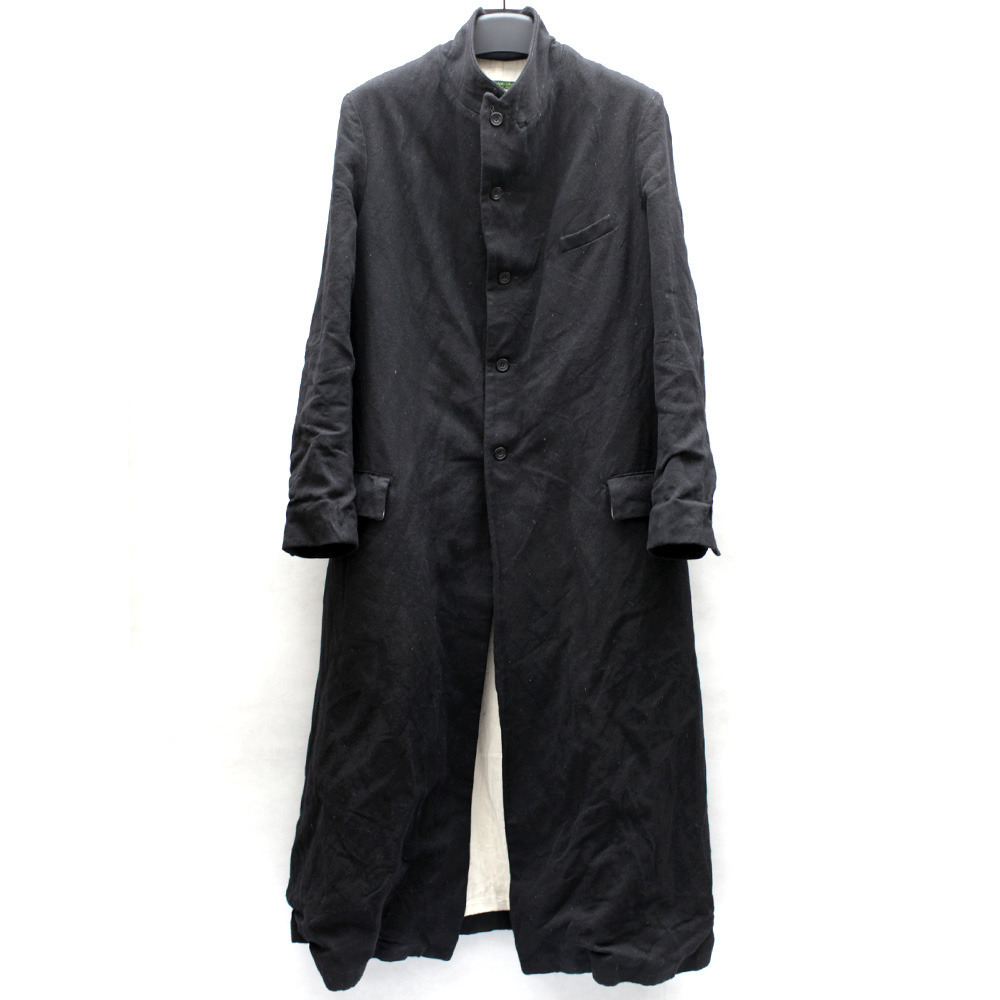 guyiconsignment:   PAUL HARNDEN WOOL LONG COAT