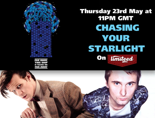 """CHASING YOUR STARLIGHT"" t-shirt design on sale Thursday 23rd May at 11PM  for 24hours on LIMITEED"