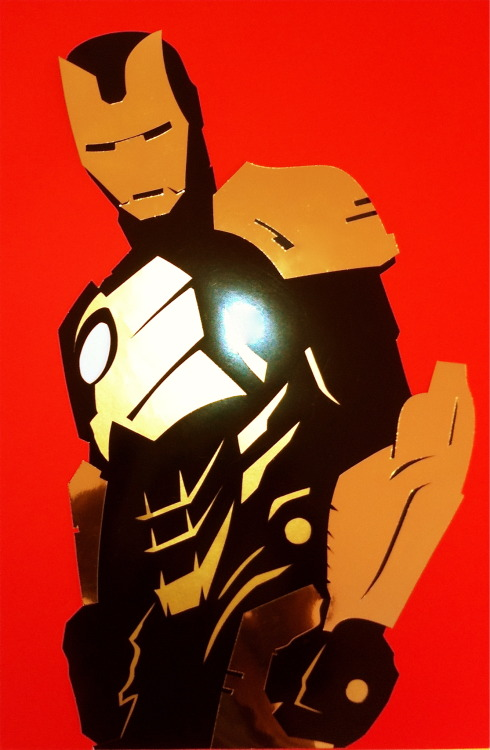 Iron Man (black and bronze armor)