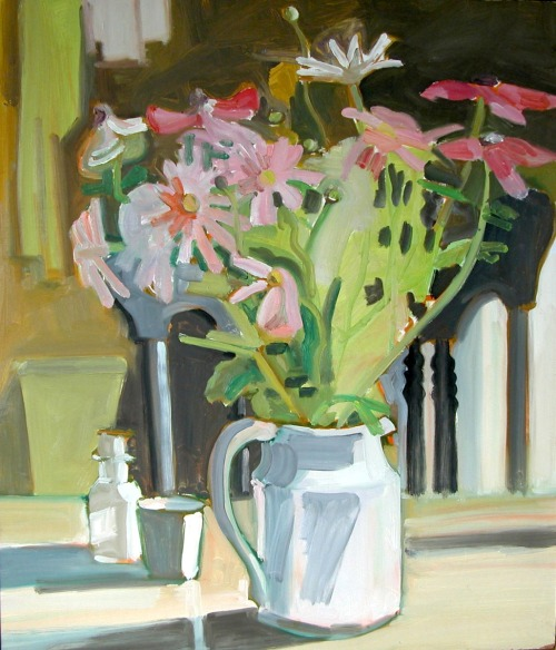 "bofransson:  ""STILL LIFE""- Oil on masonite, by Lois Dodd, 1969   Your art work Is amazing"