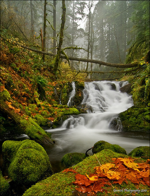 neptunesbounty:  Waterfallicious by Gaz Photo's on Flickr.