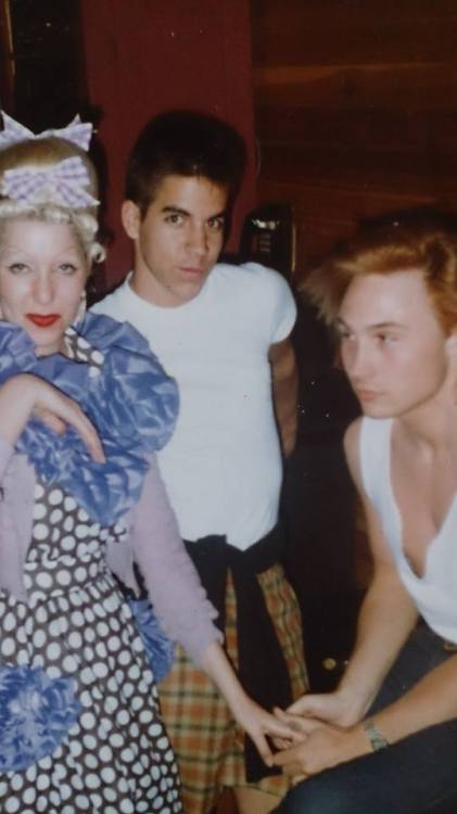 Marilyn with Pinkitessa and Anthony Kiedis