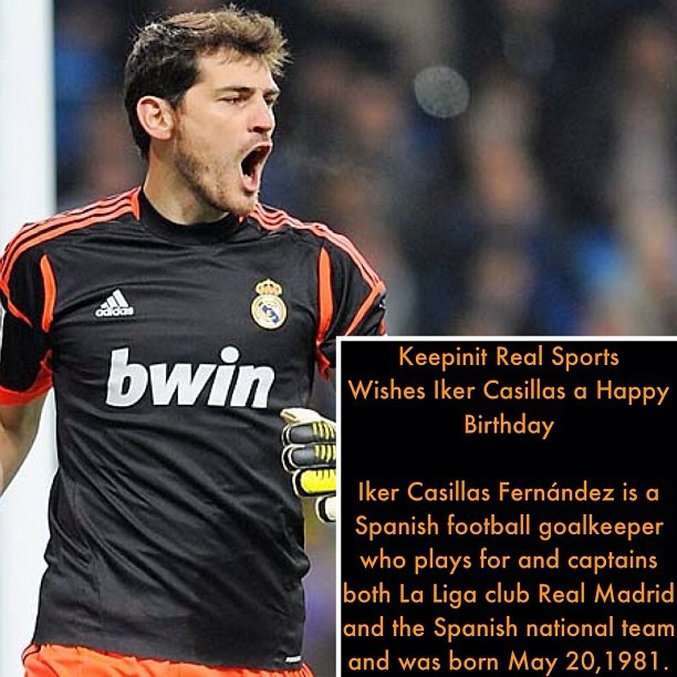 #HappyBirthday #IkerCasillas #Spanish #goalkeeper #captains #LaLigaclubRealMadrid #RealMadrid #RealMadridC #RealMadridB #MLS #Soccer #FIFA #Futebol #Followback #Sports #keepinitrealsports #MysterKeepinit
