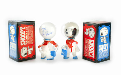 "Apollo X branded ""Snoopy"" astronaut dolls, 1969 (via thingsmagazine)"