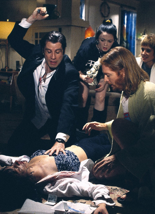 lecinemaparadiso:  Pulp Fiction (1994)  Great Scene!