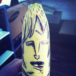 Oh, banana Co. #banana #drawing #food #fruit #office #themaninh #ordinarylife