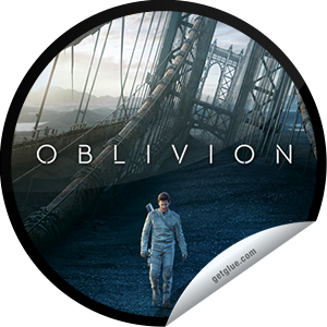 I just unlocked the Oblivion Box Office sticker on GetGlue                      9469 others have also unlocked the Oblivion Box Office sticker on GetGlue.com                  Thank you for seeing Oblivion in theaters! We hope you enjoyed this futuristic thriller starring Tom Cruise. Share this one proudly. It's from our friends at Universal Pictures.